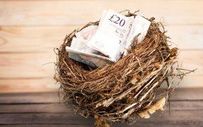 Nest full of money from inheritance
